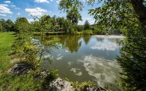 Teich. im SchlossOttenstein Schlossteich