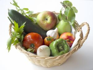 Stilleben Gemüsekorb