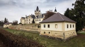 Schloss Grafenegg 4Seitenansicht