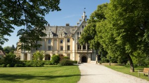 Schloss Grafenegg 18 Frontansicht