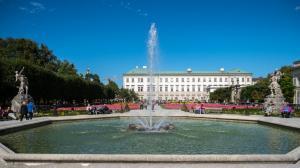 Schloss Mirabell Garten 4