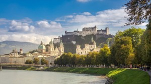 Salzburg Uferpromenade