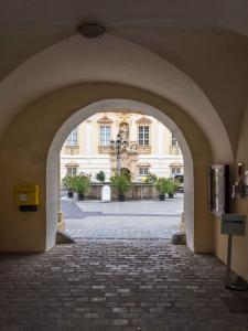 Stift Zwettl Blick in den Innenhof