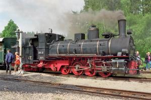 Eisenbahn Dampfzug Gmünd 12