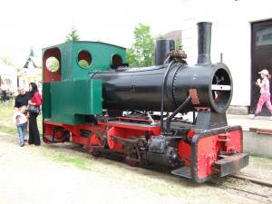 Eisenbahn Dampfzug Gmünd 13