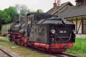 Eisenbahn Dampfzug Gmünd 22