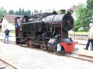 Eisenbahn Dampfzug Gmünd 23