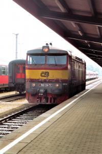 Tschechische Lokomotive749 134 3