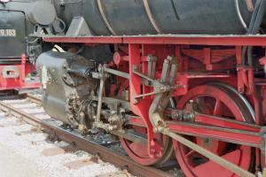 Eisenbahn Dampfzug Gmünd 7