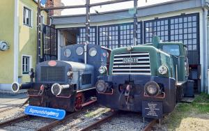 Eisenbahnmuseum Sigmundsherberg Diesellok 2060