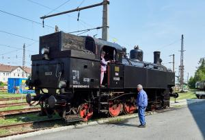 Eisenbahnmuseum Sigmundsherberg Dampflok Reihe 93