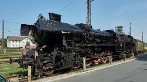 Eisenbahnmuseum Sigmundsherberg 2  Dampflok Reihe 52 2