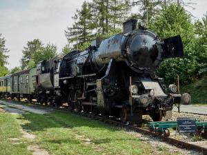 Eisenbahnmuseum Sigmundsherberg Dampflok Reihe 52