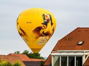 Heißluftballon Zillertalarena